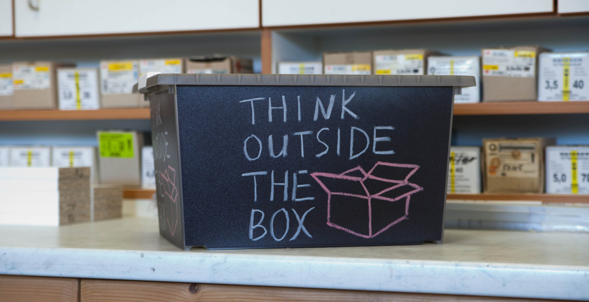 Unsere Schreinerei - Think outside the box